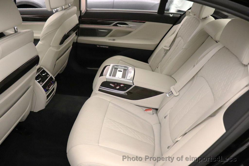 2018 BMW 7 Series CERTIFIED 750i NAV CAM PANO HK HUD LUX REAR SEATS - 18587080 - 42