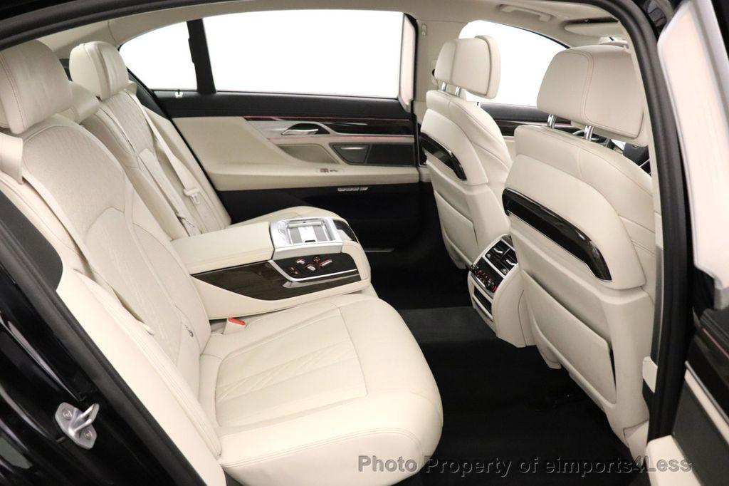2018 BMW 7 Series CERTIFIED 750i NAV CAM PANO HK HUD LUX REAR SEATS - 18587080 - 43