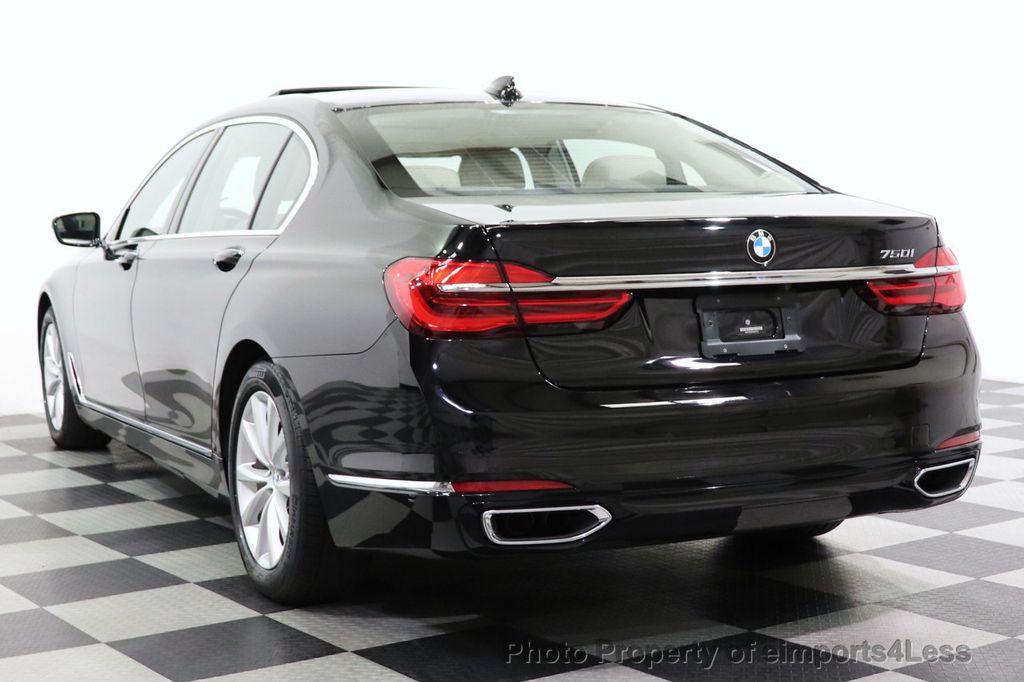 2018 BMW 7 Series CERTIFIED 750i NAV CAM PANO HK HUD LUX REAR SEATS - 18587080 - 45