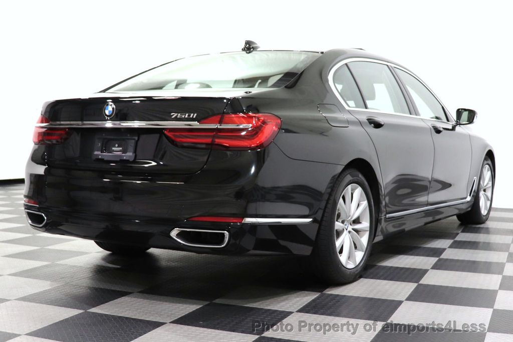 2018 BMW 7 Series CERTIFIED 750i NAV CAM PANO HK HUD LUX REAR SEATS - 18587080 - 4