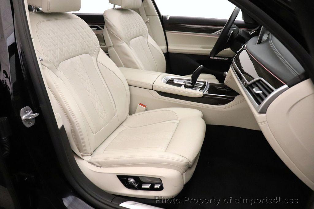 2018 BMW 7 Series CERTIFIED 750i NAV CAM PANO HK HUD LUX REAR SEATS - 18587080 - 6