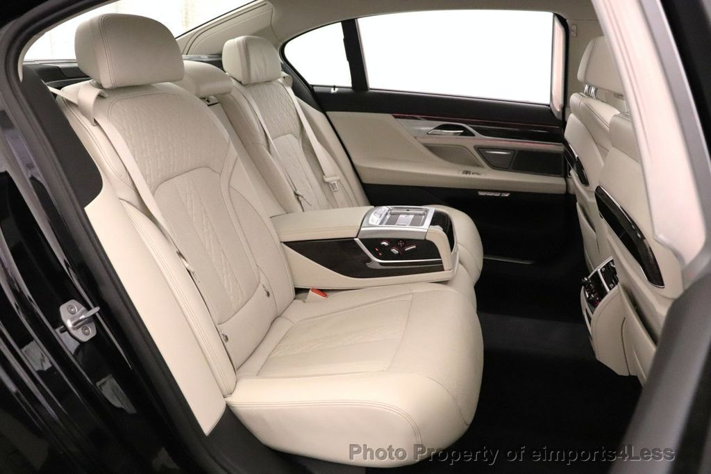 2018 BMW 7 Series CERTIFIED 750i NAV CAM PANO HK HUD LUX REAR SEATS - 18587080 - 8