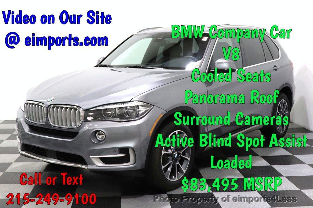 2018 BMW X5 CERTIFIED X5 xDrive50i XLINE AWD NAV CAM ACC HUD - 18587055 - 0