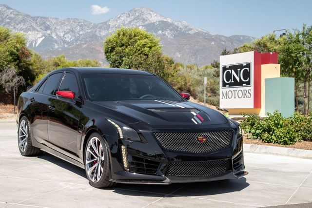 Cadillac Cts V Used >> 2018 Used Cadillac Cts V Sedan 4dr Sedan At Cnc Motors Inc