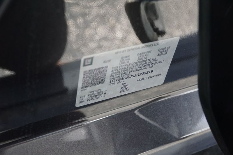 2018 Cadillac Escalade 4WD 4dr Platinum - Click to see full-size photo viewer