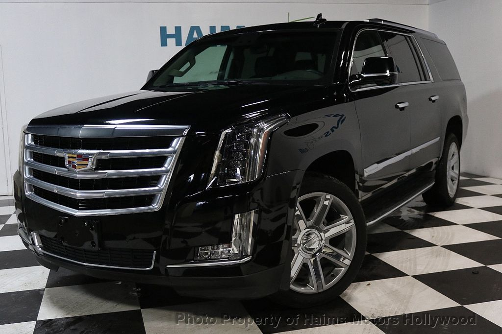2018 used cadillac escalade esv 2wd 4dr luxury at haims motors hollywood serving fort lauderdale. Black Bedroom Furniture Sets. Home Design Ideas