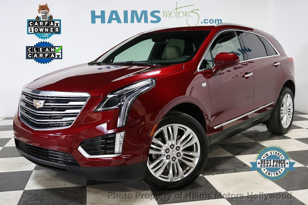 2018 Cadillac XT5 Crossover FWD 4dr Premium Luxury - 18353238 - 0