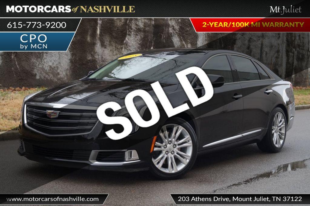 2018 Used Cadillac Xts 4dr Sedan Luxury Awd At Motorcars Of