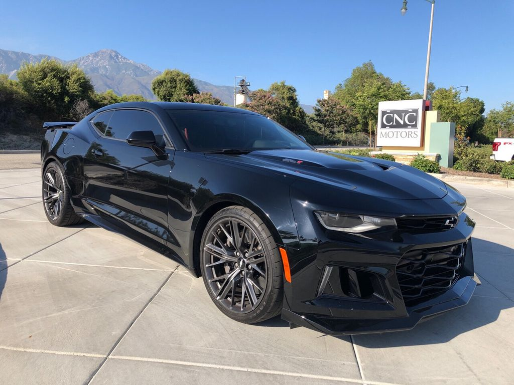 2018 Used Chevrolet Camaro 2dr Coupe ZL1 at CNC Motors Inc  Serving Upland,  CA, IID 19120215