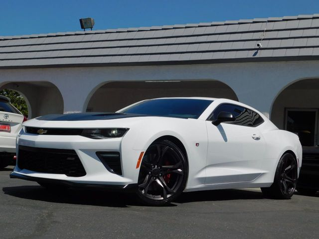 2018 Used Chevrolet Camaro SS Coupe w/ 1LE Performance Track Pkg 6-Spd MT  at Jim's Auto Sales Serving Harbor City, CA, IID 19132535