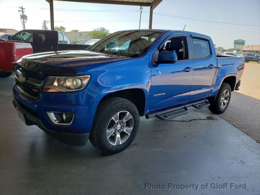 "2018 Chevrolet Colorado 4WD Crew Cab 140.5"" Z71 - 19059507 - 0"