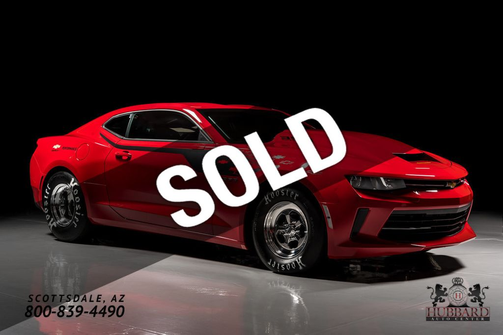 2018 Chevrolet COPO Camaro 2018 1 of Only 69 Produced ...