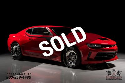 2018 Chevrolet COPO Camaro 2018 1 of Only 69 Produced,Racers PKG Graphics Pkg,350SC Engine Coupe