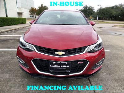 2018 Chevrolet CRUZE 2018 Chevy Cruze LT, 1-Owner, 27k, Reverse Camera, Keyless Entry - Click to see full-size photo viewer