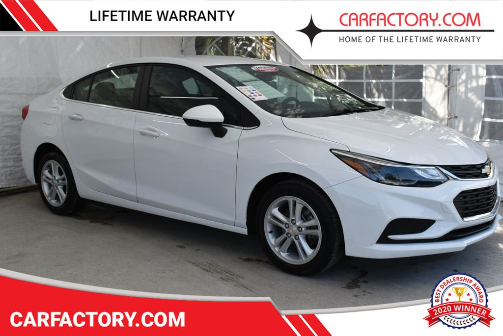 2018 Chevrolet CRUZE 4dr Sedan 1.4L LT w/1SD - 18716098 - 0