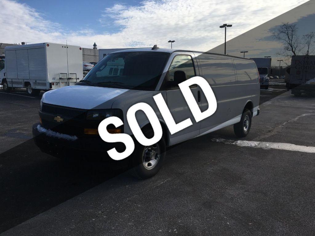 2018 Chevrolet Express Cargo Van EXTENDED RWD 2500 155 - 18405174 - 0