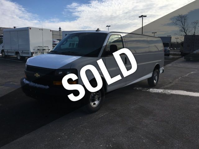 Chevy Express Van >> 2018 Used Chevrolet Express Cargo Van Extended Rwd 2500 155 At