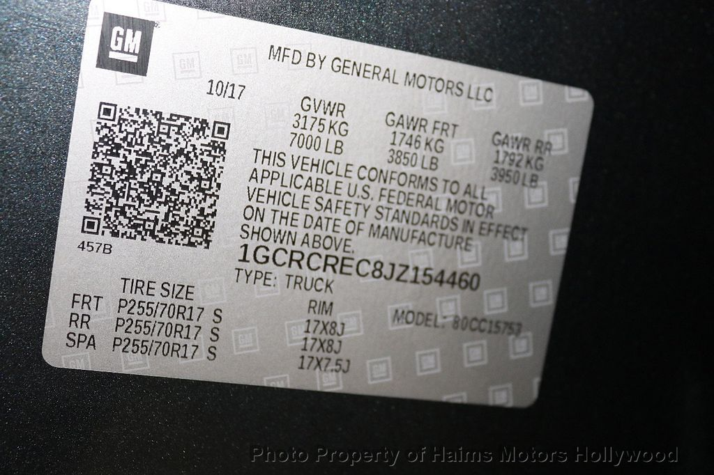 "2018 Chevrolet Silverado 1500 2WD Double Cab 143.5"" LT w/1LT - 18188455 - 31"