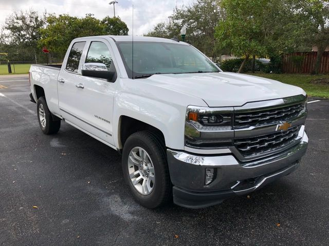 "2018 Chevrolet Silverado 1500 2WD Double Cab 143.5"" LTZ w/1LZ - Click to see full-size photo viewer"