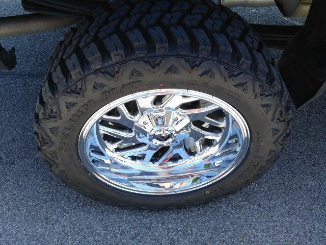 Used Mud Tires For Sale >> 2018 Used Chevrolet Silverado 1500 Lt Double Cab 4x4 20 Fuel Triton Chrome Rims 33 Mud Tires At Auto Express Lafayette In Iid 18990194