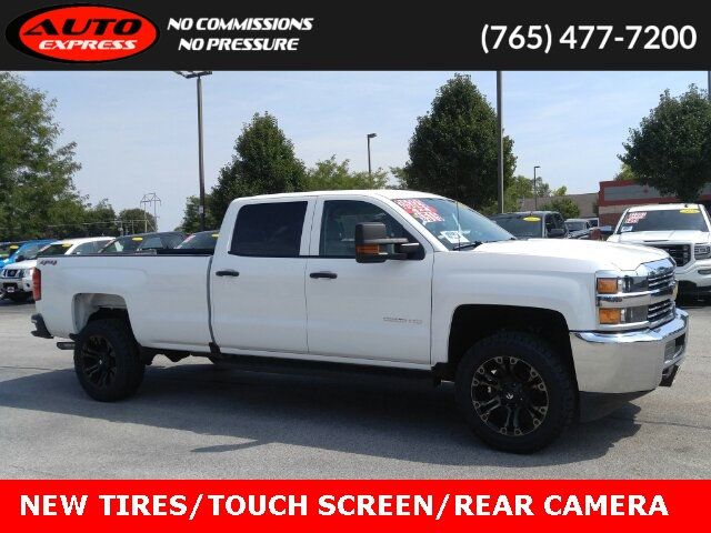 2018 Used Chevrolet Silverado 2500hd Work Truck Crew 4x4 Rims Touch Screen At Auto Express Lafayette In Iid 19285284