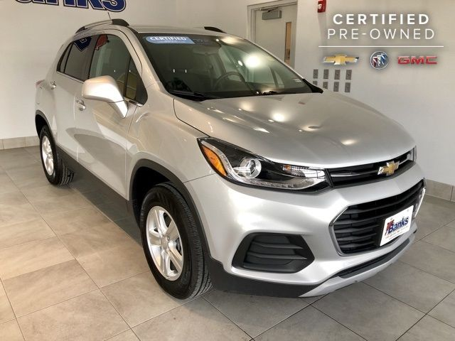 2018 Used Chevrolet Trax Awd Lt At Banks Chevrolet Buick Gmc