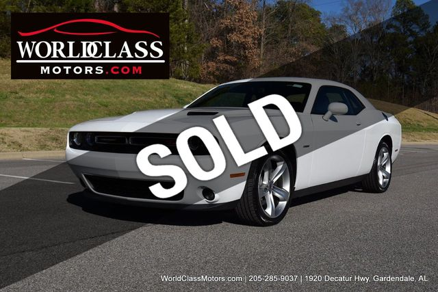 2018 Dodge Challenger >> 2018 Used Dodge Challenger R T Coupe At World Class Motors Serving Gardendale Al Iid 19653847