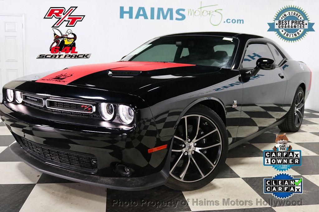 2018 Dodge Challenger R/T Scat Pack Coupe - 17886348 - 0