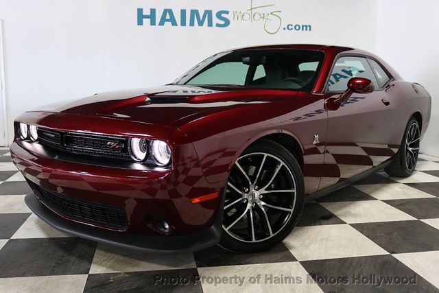 2018 Dodge Challenger >> 2018 Used Dodge Challenger R T Scat Pack Rwd At Haims Motors Serving Fort Lauderdale Hollywood Miami Fl Iid 19227555