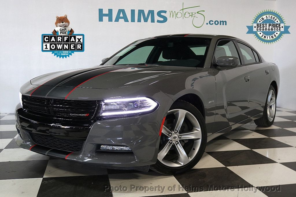 2018 Dodge Charger R/T RWD - 17422229 - 0