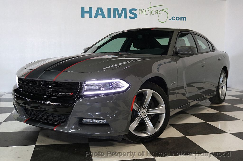 2018 Used Dodge Charger R T Rwd At Haims Motors Serving