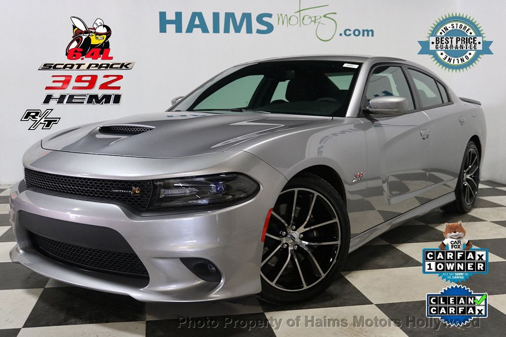 2018 Dodge Charger R/T Scat Pack RWD - 18159634 - 0