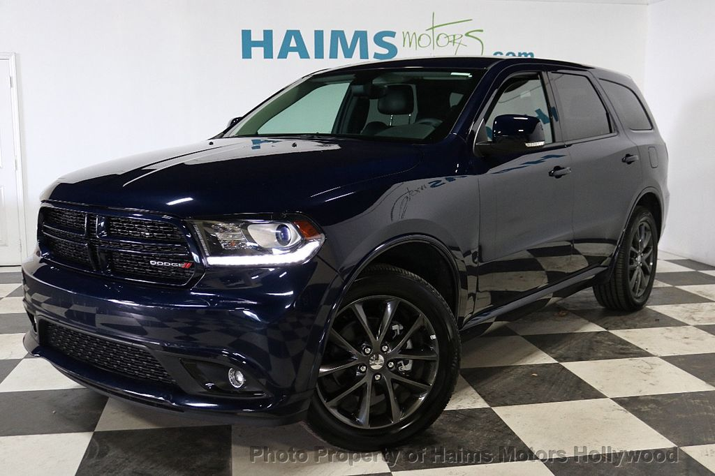 Used Dodge Durango >> 2018 Used Dodge Durango Gt Awd At Haims Motors Serving Fort