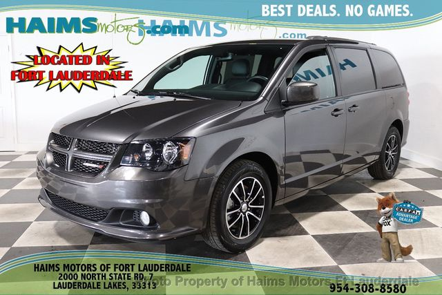 2018 Used Dodge Grand Caravan Gt Wagon At Haims Motors Serving Fort Lauderdale Hollywood Miami Fl Iid 20007647