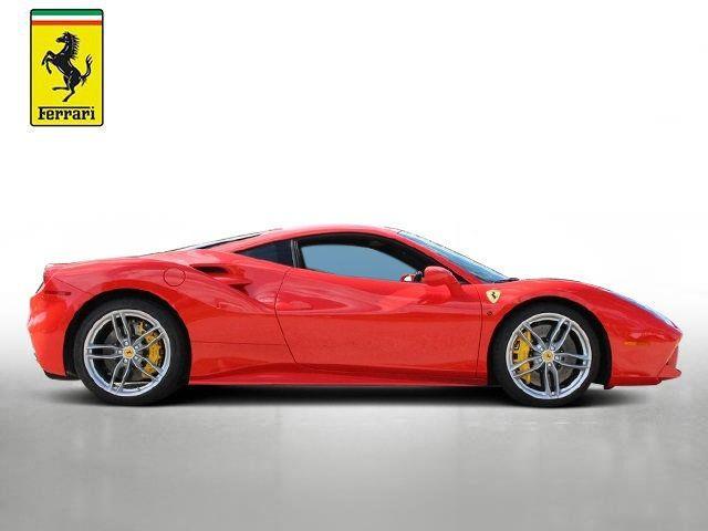 2018 Used Ferrari 488 Gtb Base At Ferrari Of Central Florida Serving Orlando Fl Iid 19576147