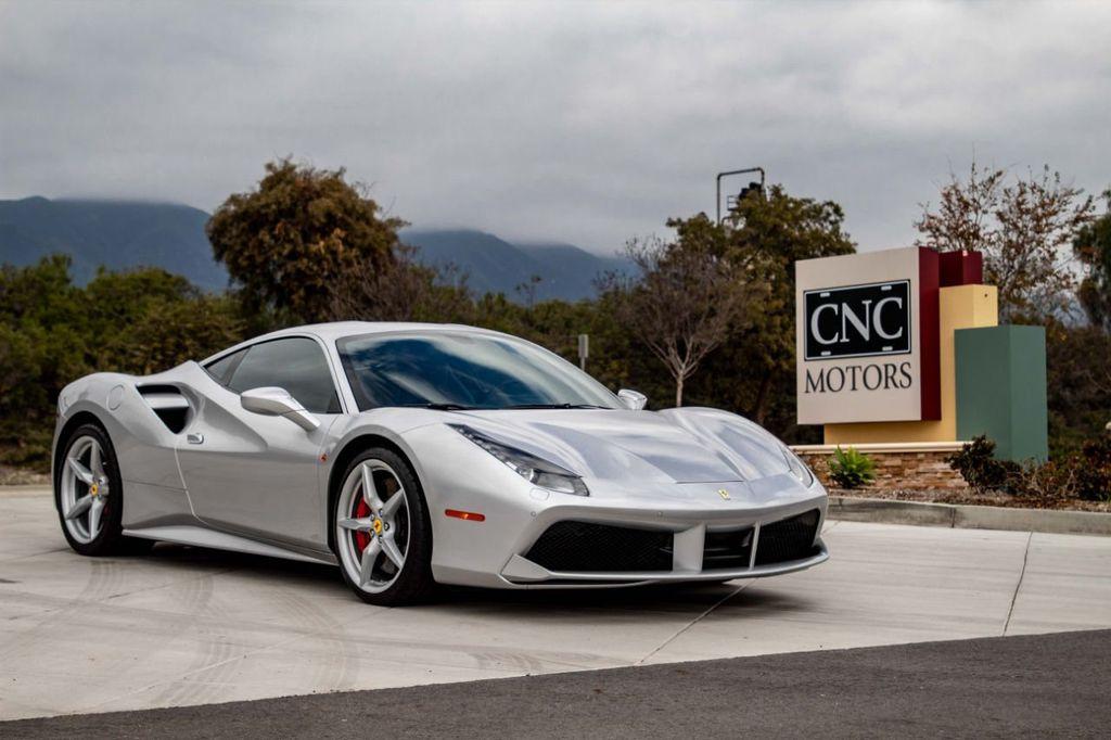 Ferrari 488 Gtb >> 2018 Used Ferrari 488 Gtb Coupe At Cnc Motors Inc Serving Upland Ca Iid 18676052