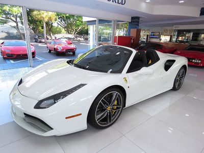 2018 Ferrari 488 Spider Convertible - Click to see full-size photo viewer