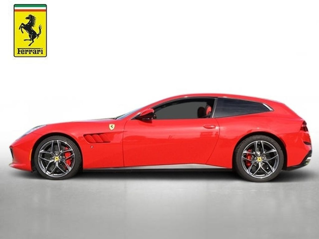 2018 Ferrari GTC4Lusso Red