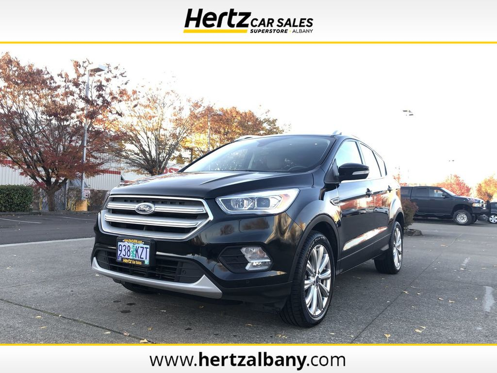 Ford Escape Titanium >> 2018 Used Ford Escape Titanium 4wd At Hertz Car Sales Of Albany Or Iid 19430988