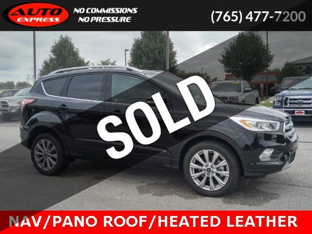 2018 Used Ford Escape Titanium 4x4 18 Premium Alloys Navigation Panoramic Sunroof At Auto Express Lafayette In Iid 19181870