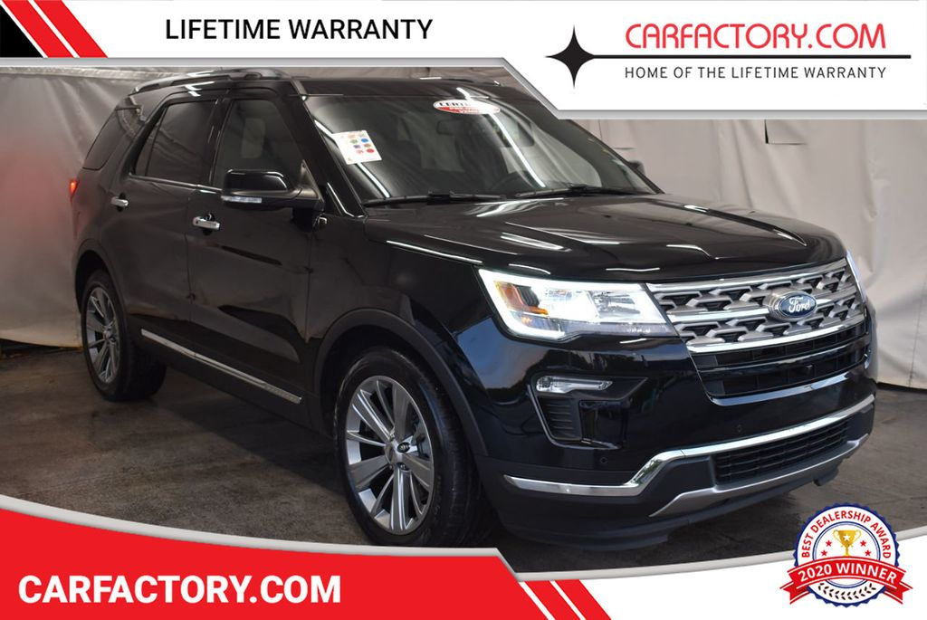 2018 Ford Explorer Limited FWD - 18246521 - 0