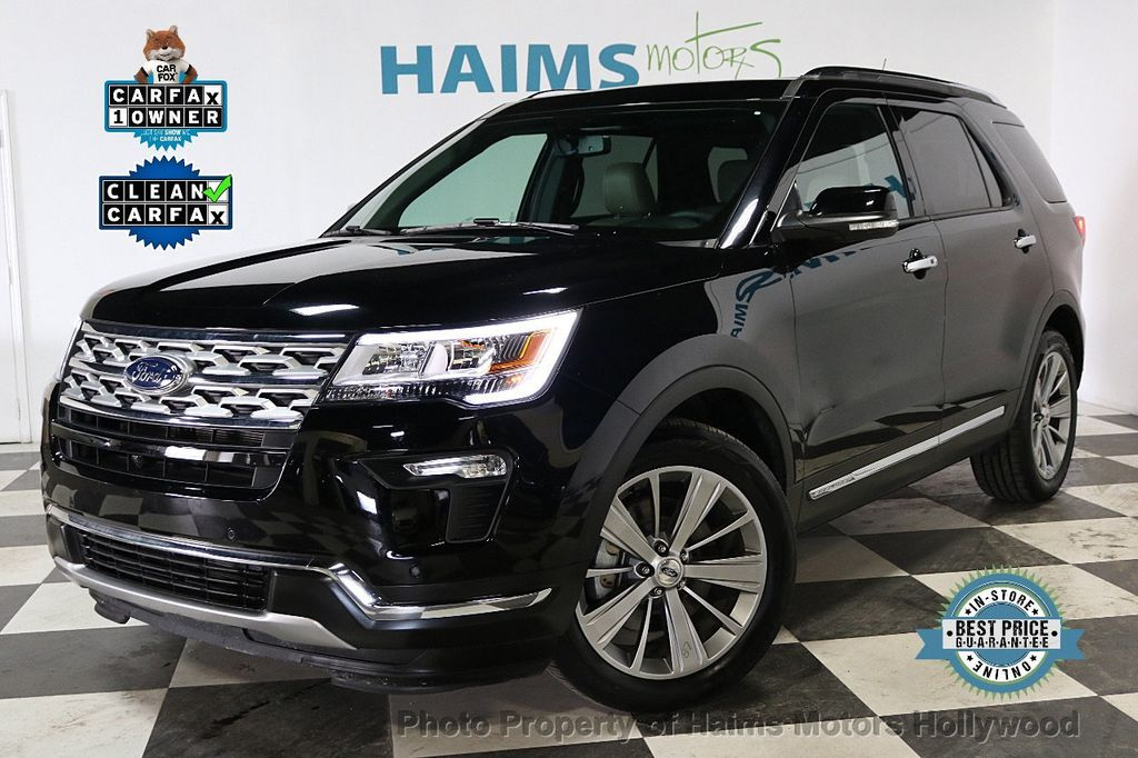 2018 Ford Explorer Panoramic Sunroof - 18196883 - 0