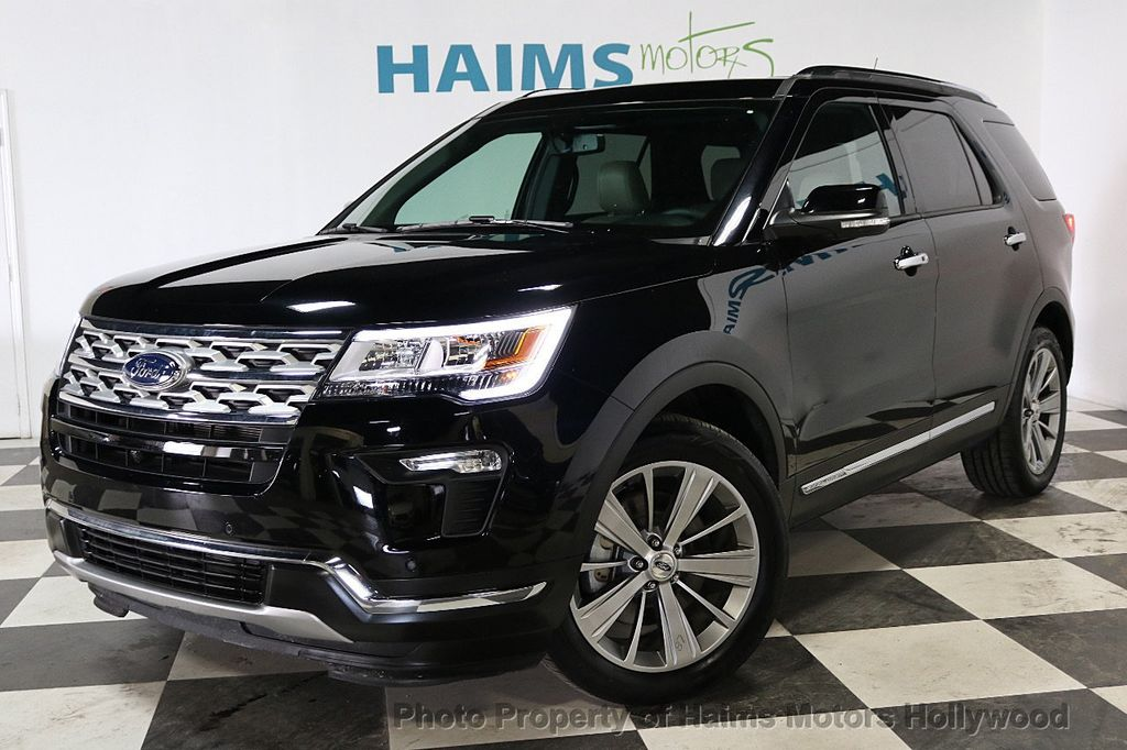 2018 Ford Explorer Panoramic Sunroof - 18196883 - 1