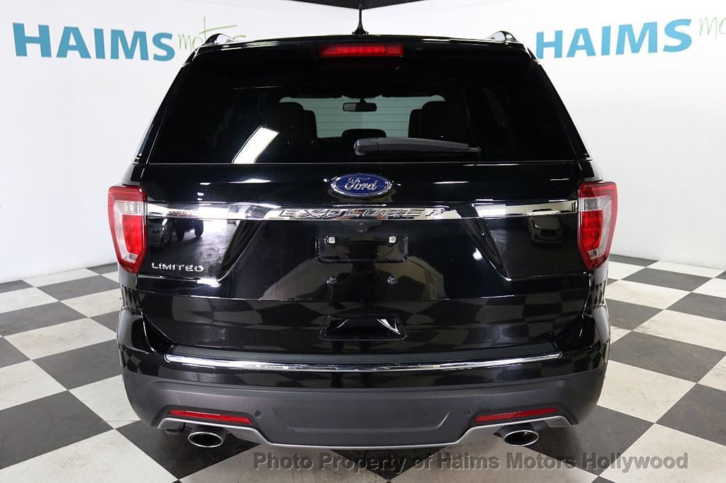 2018 Ford Explorer Panoramic Sunroof - 18196883 - 5