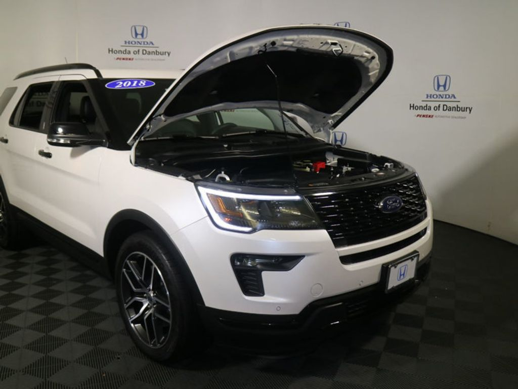 2018 Ford Explorer Sport 4WD - 18192625 - 2