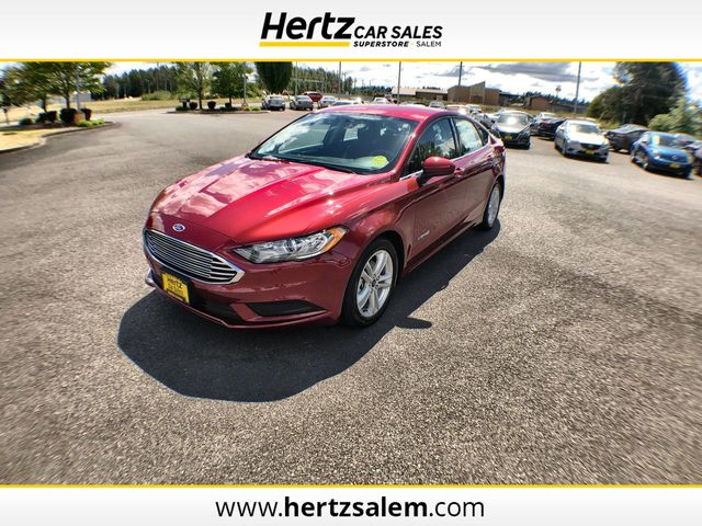 Used Ford Fusion Hybrid >> Used Ford Fusion Hybrid At Hertz Car Sales Of Salem Or