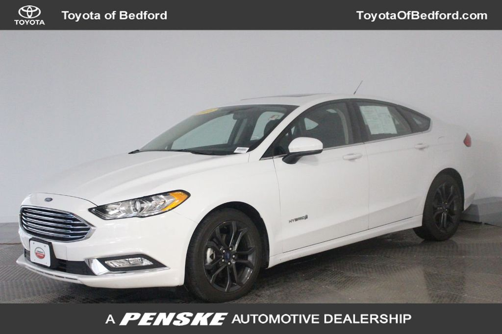 Used Ford Fusion Hybrid >> 2018 Used Ford Fusion Hybrid Se Fwd At Penske Cleveland Serving All Of Northeast Oh Iid 19627024