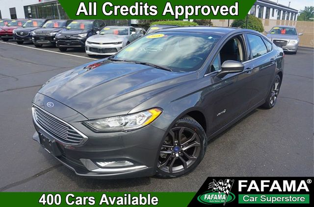 Used Ford Fusion Hybrid >> 2018 Used Ford Fusion Hybrid Se W Appearance Pkg At Fafama Auto Sales Serving Boston Milford Framingham Ma Iid 19246005