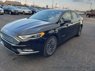 2018 Ford Fusion Hybrid Titanium FWD Sedan