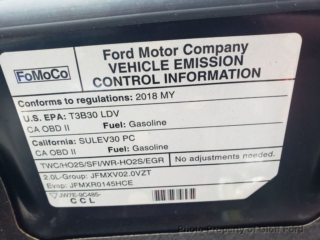2018 Used Ford Fusion Hybrid Titanium FWD at Gloff Ford Serving Clifton,  TX, IID 18412358